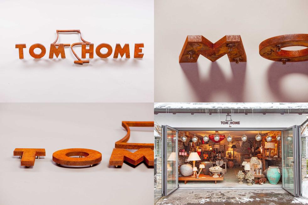 3D Logo Tom Home