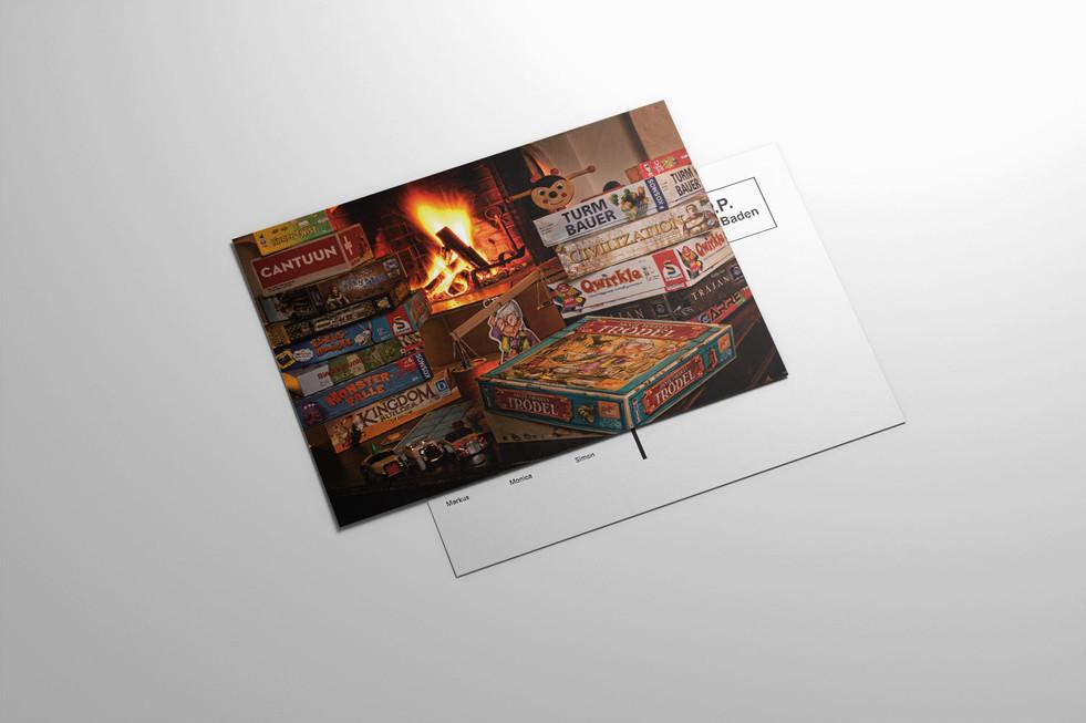 Weihnachtskarte Miracoolix
