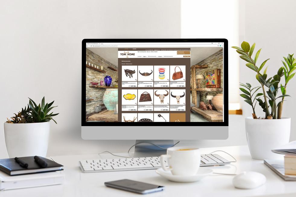 Webdesign Tom Home