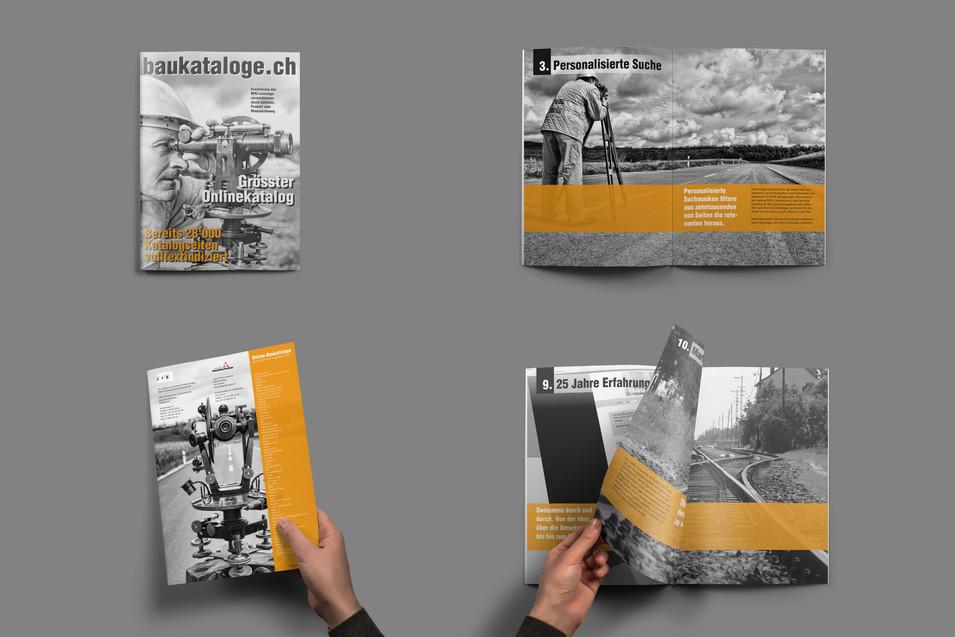 Broschüre baukataloge.ch