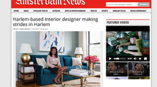 Harlem-based interior designer making strides in Harlem