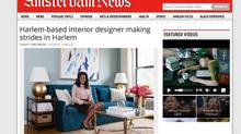 Harlem-based interior designer making strides in Harlem
