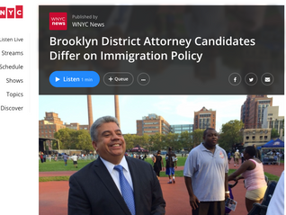 Brooklyn District Attorney Candidates Differ on Immigration Policy