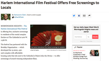 Harlem International Film Festival Offers Free Screenings to Locals