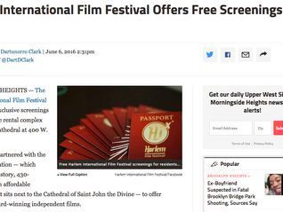 Harlem International Film Festival Offers Free Screenings to Locals