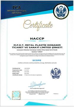 M.P.D.T.  HACCP