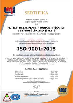 M.P.D.T. ISO 9001 TR 2018