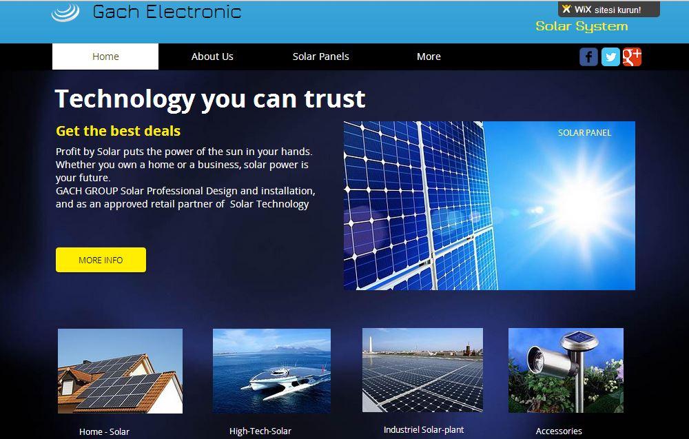 Electronic Solar Energy