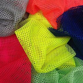 Telas, tecidos, forros de poliéster