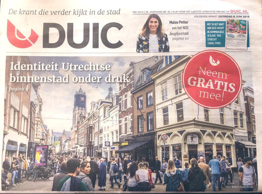 """""""Identiteit Utrechtse Binnenstad onder druk"""""""