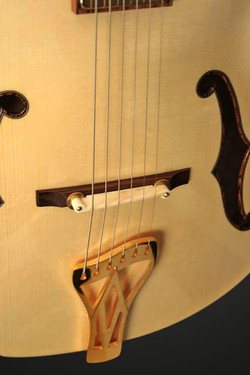 ARCHTOP BRIDGE AND TAILPIECE