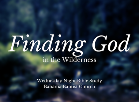 Finding God in the Wilderness