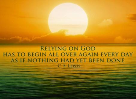 Relying on God- 2 Corinthians 1:8-9