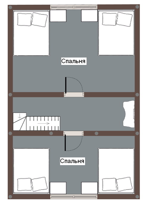 2 этаж дома