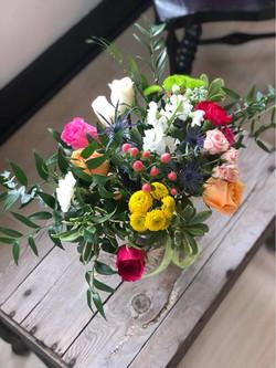 small arrangement bright 3