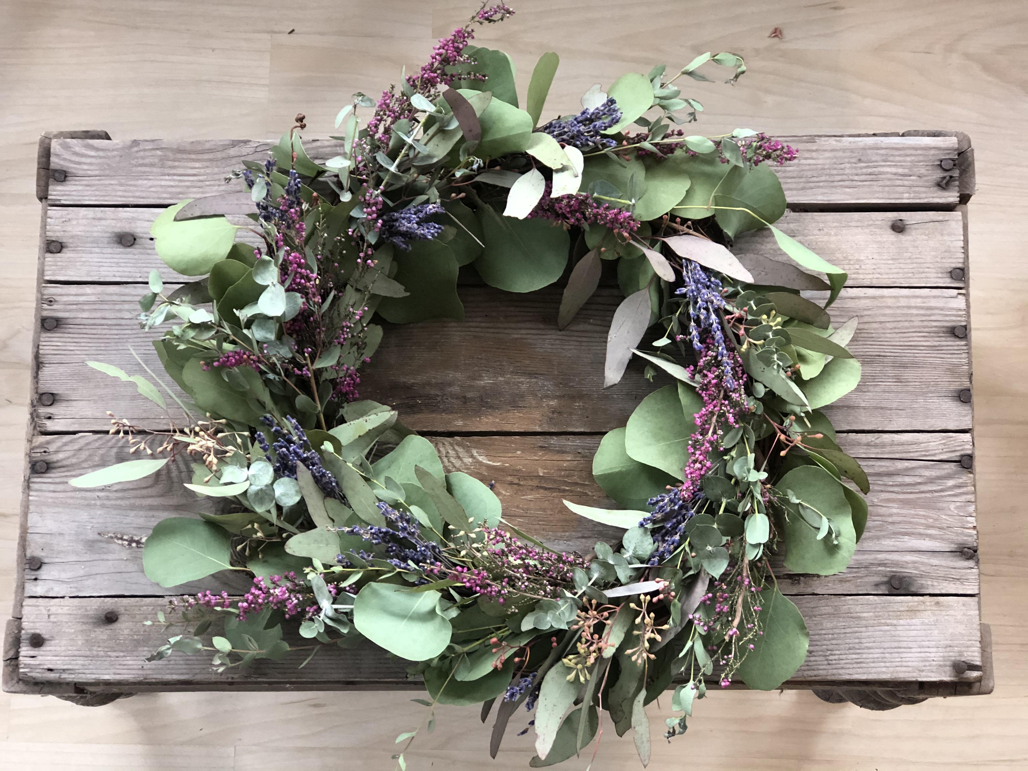 eucalyptus wreath 2