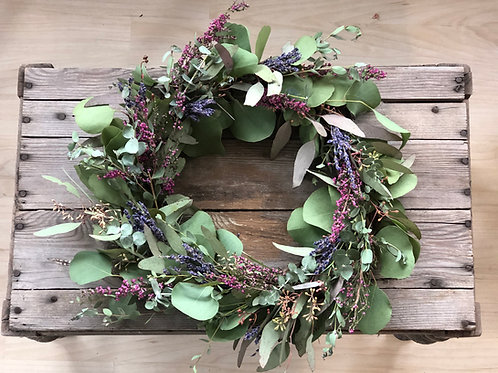 Eucalyptus & Lavender Wreath
