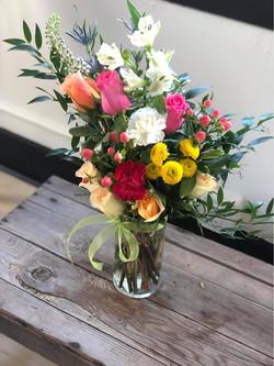 small arrangement- bright