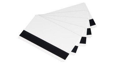 Writable cards w/ magnetic stripe