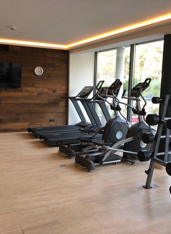 Fitnessraum Hotel Solitaire