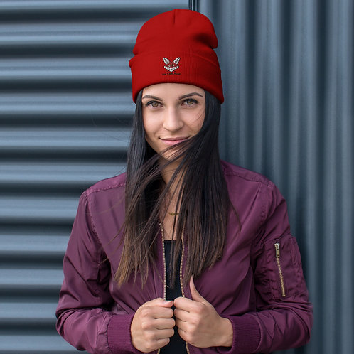Embroidered Beanie (5 Colors)