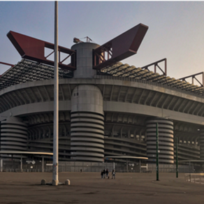 Worth £630 million is the new stadium for AC Milan and Inter planned to open in 2022