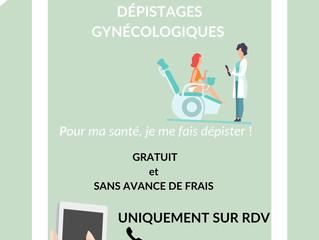 Dépistages Gynécologiques