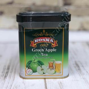 Чай зеленый яблочный 200гр.