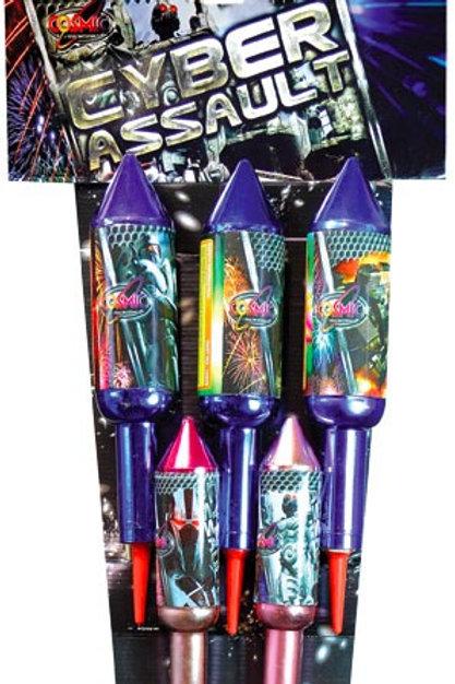 Cyber Assault Rockets (5 Pack)