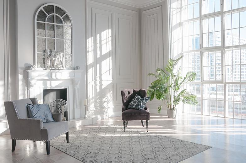 Ливадия - 1500 ₽/час 65 м2 Светлый, серый, стильный, один из моих любимых.