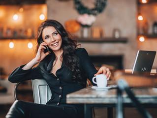 Женский бизнес портрет, фотосессия в студии или в офисе Москвы