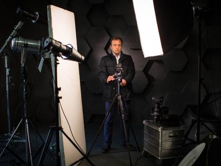 Оборудование для бизнес портрета, фотосессии в студии и на выезде
