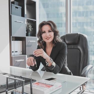 Женский бизнес-портрет - деловой портрет