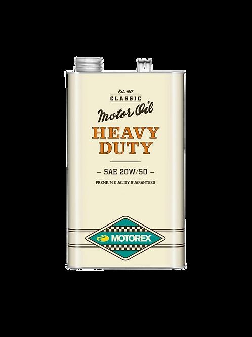HUILE MOTOREX HEAVY DUTY SAE 20W/50 - 5 LITRES