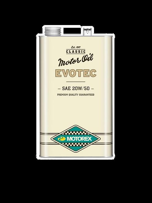 HUILE MOTOREX EVOTEC SAE20W/50 - 5 LITRES