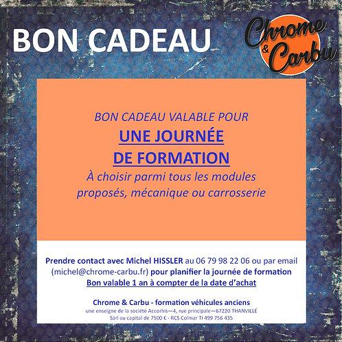 BON CADEAU 1 JOURNÉE DE FORMATION