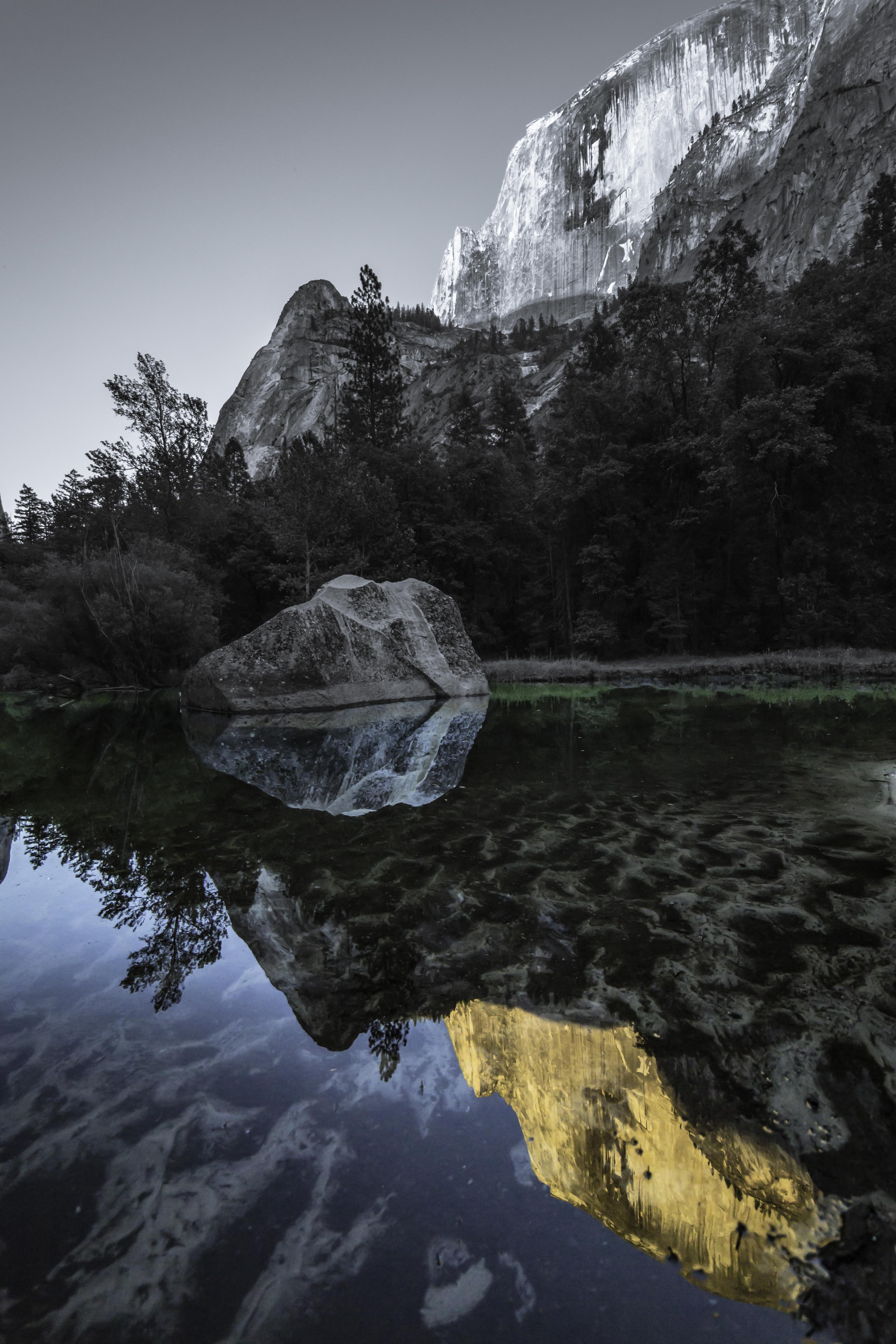Mirror Lake Yosemite National Park large
