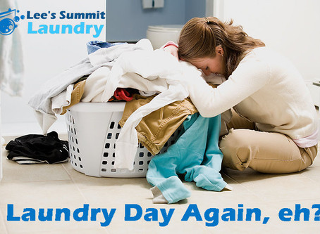 It's Laundry Day Again, Eh?