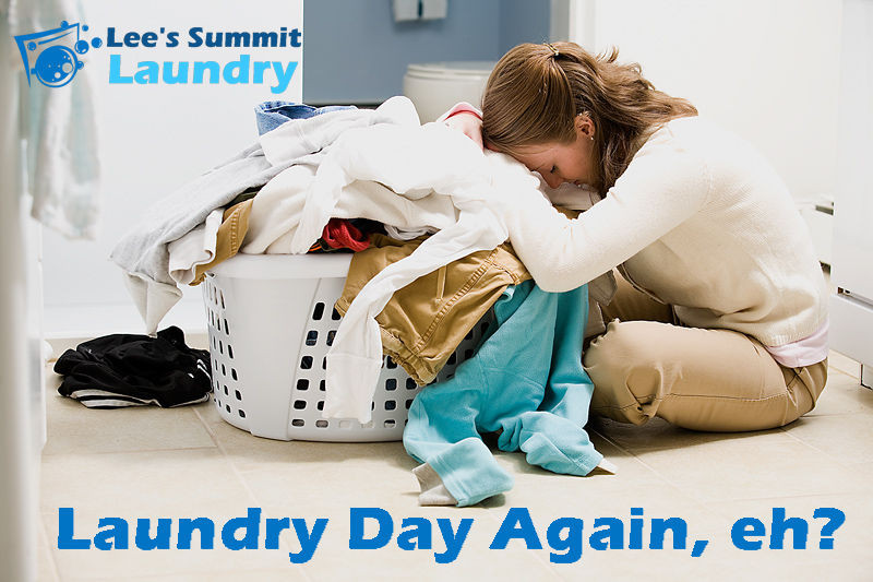 Lee's Summit Laundry Full-Service Wash, Dry and Fold Laundromat Drop-Off Service