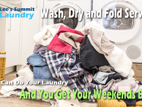 What $1.00 Per Pound Of Laundry Can Get You