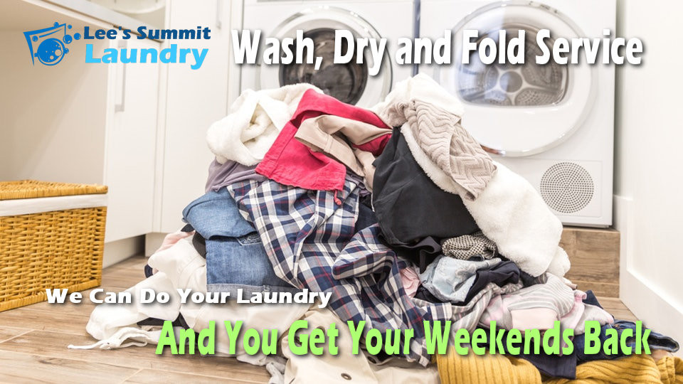 Wash and Fold Service at your local Kansas City Laundromat