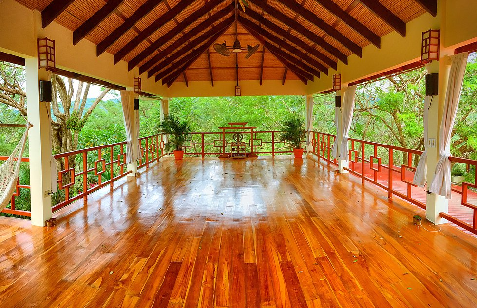 AHKI Retreat Tree Top Yoga Shala