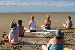 Meditation on the beach...
