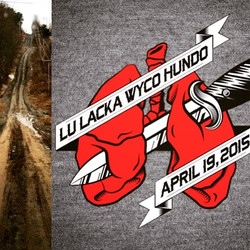 So you are signed up for the lu Lacka Wyco Hundo but you don't have your shirt yet. Better get on it