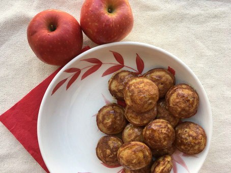 Oaty Apple Pancake Poppers