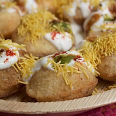 Sprouts Chaat - Dahi Puri