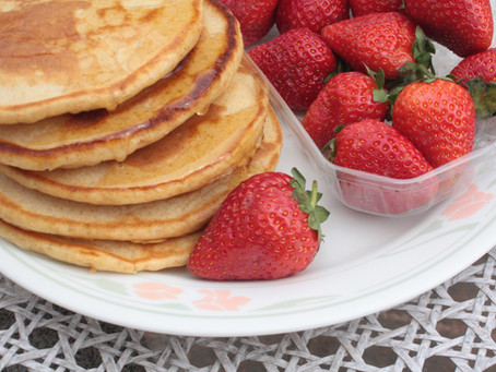 Wholegrain Pancakes, American-style