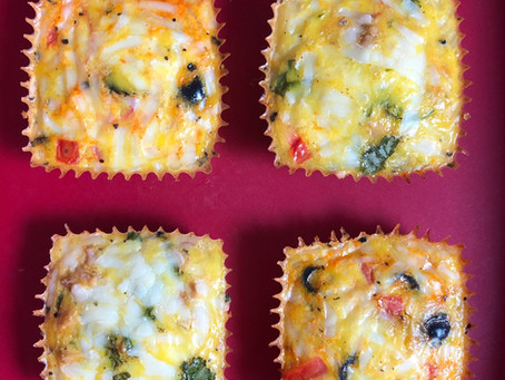 Protein-packed Egg and Veggie Breakfast Muffins