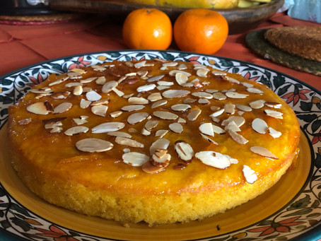 Scrumptious Orange Almond Cake