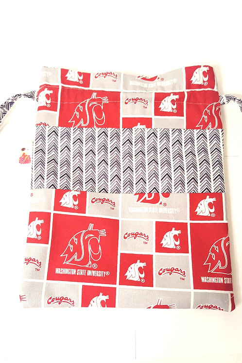 Cougs Drawstring Project Bag